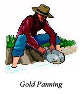 UNITED STATES GOLD LOCATIONS-CALIFORNIA